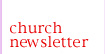 Newsletter of St. Francis Anglican Church, Austin, TX