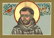 St. Francis of Assisi, patron saint of St. Francis Anglican Church